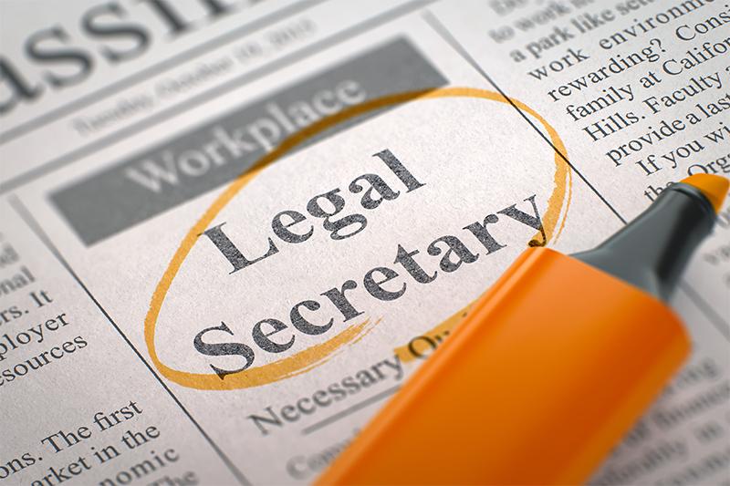 Legal secretary careers advice