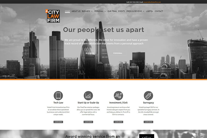 A City Law Firm London