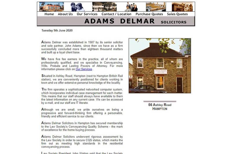 Adams Delmar Solicitors Middlesex
