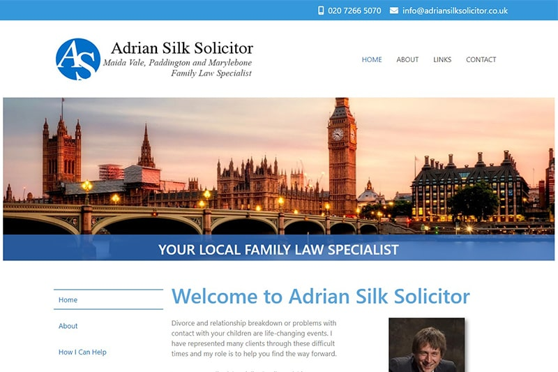 Adrian Silk Solicitor London