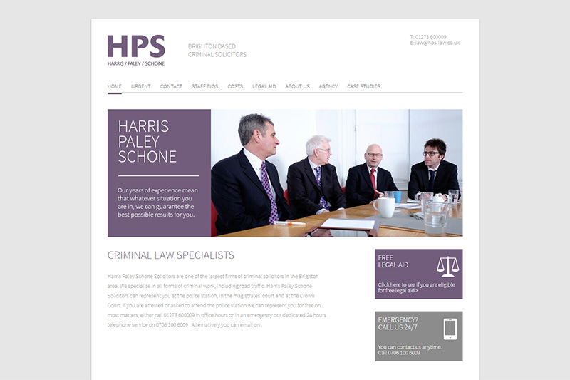 Harris Paley Schone Solicitors in East Sussex