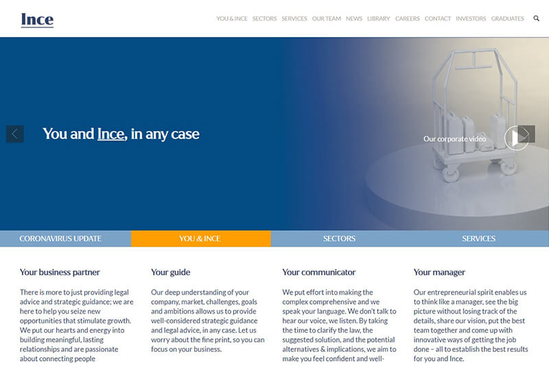 INCE & Co Solicitors London