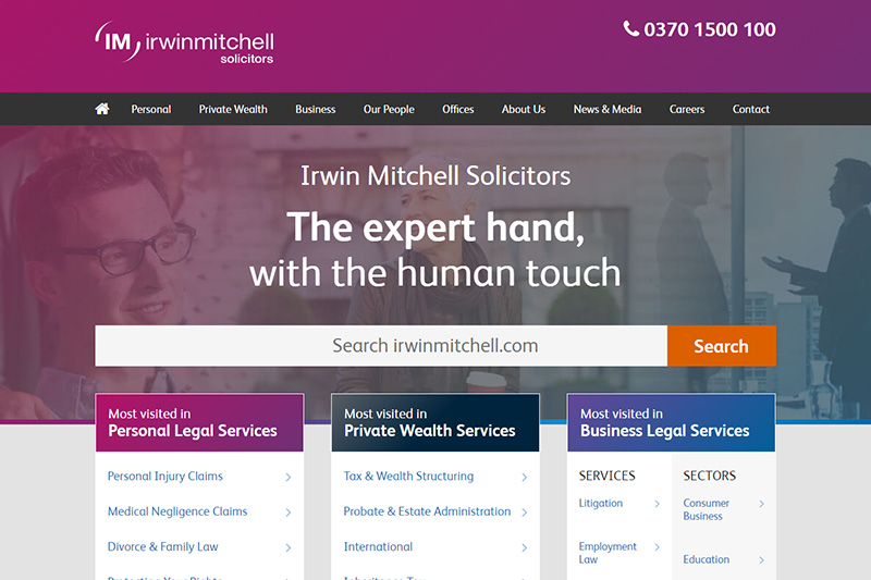 Irwin Mitchell Solicitors in Sheffield