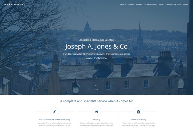 Joseph A Jones & Co Solicitors Lancashire