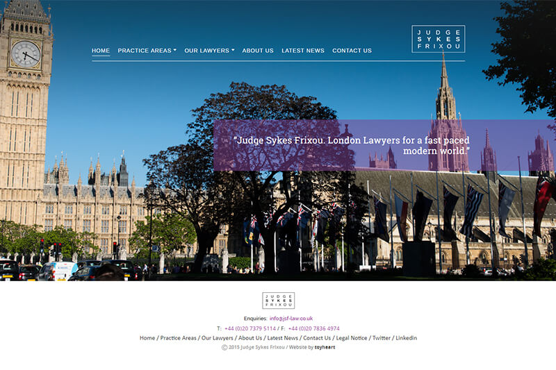 Judge Sykes Solicitors London