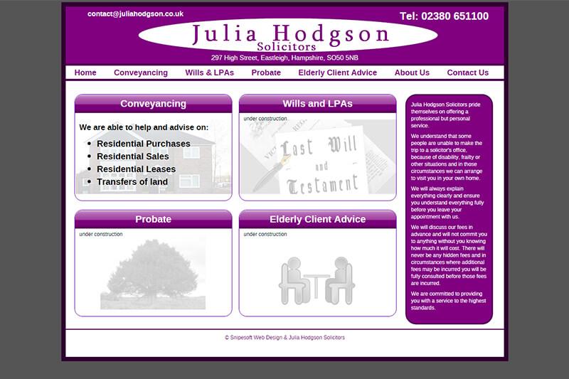 Julia Hodgson Solicitors Hampshire