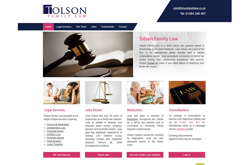 Julia Tolson Family Solicitor West Midlands