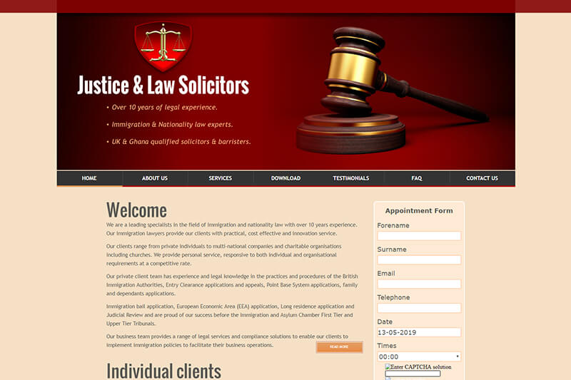 Justice And Law Solicitors London
