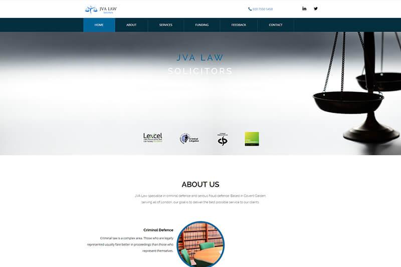 JVA Law Solicitors London
