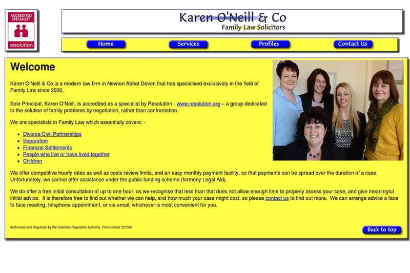 Karen O'neill & Co Solicitors Devon