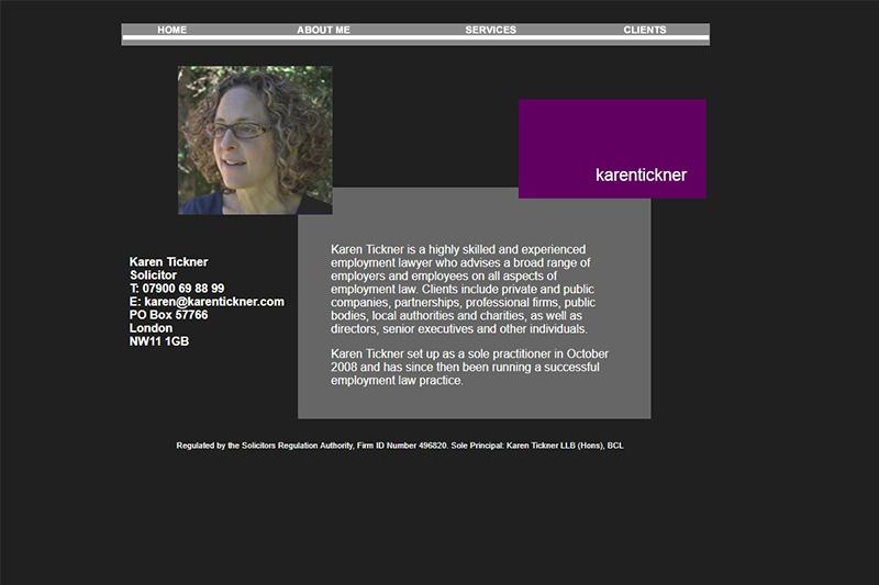 Karen Tickner Solicitors London
