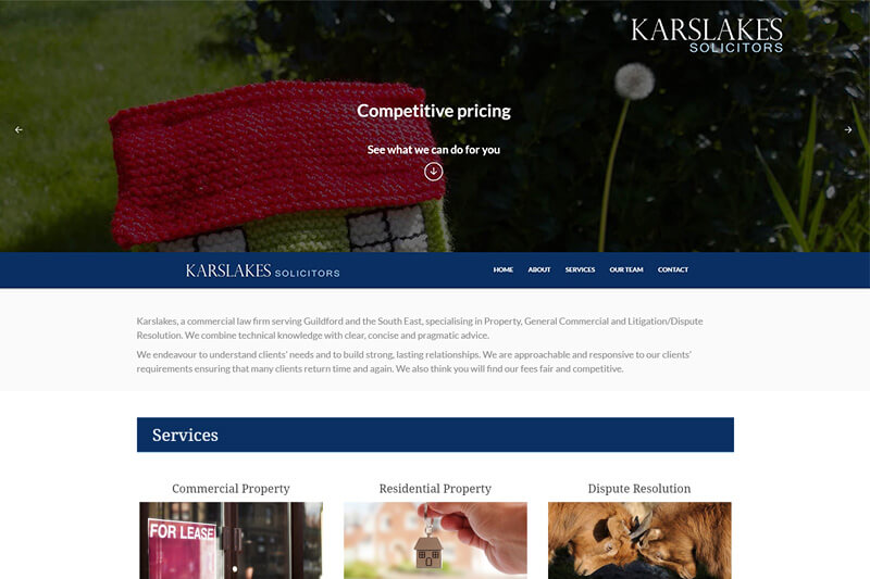 Karslakes Solicitors Guildford Surrey