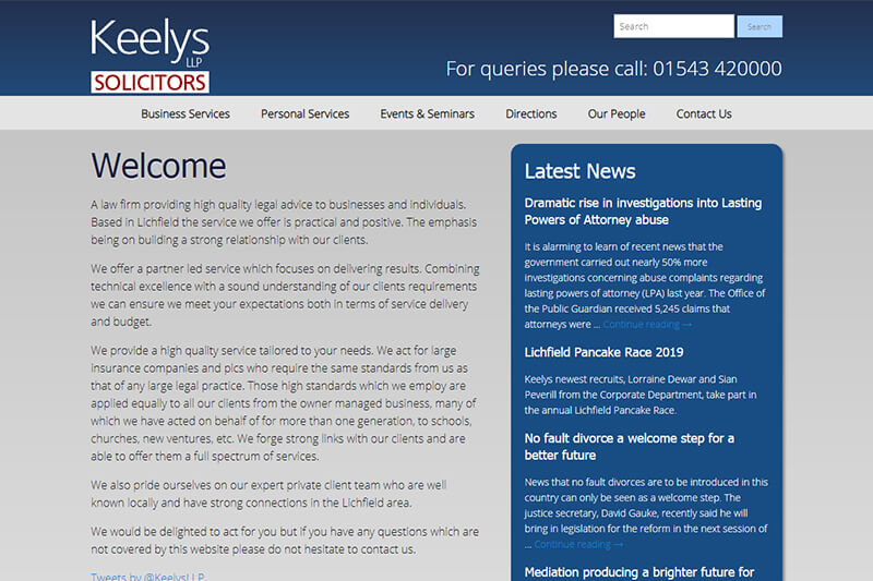 Keelys Solicitors Staffordshire