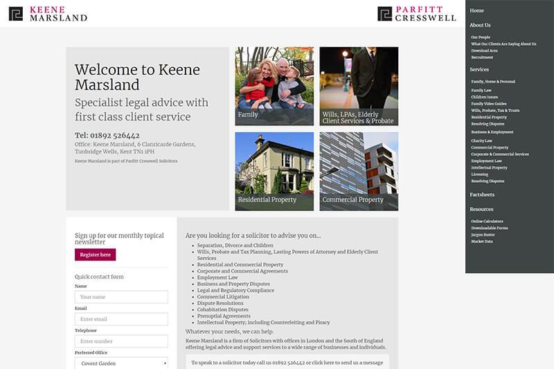 Keene Marsland Solicitors Kent