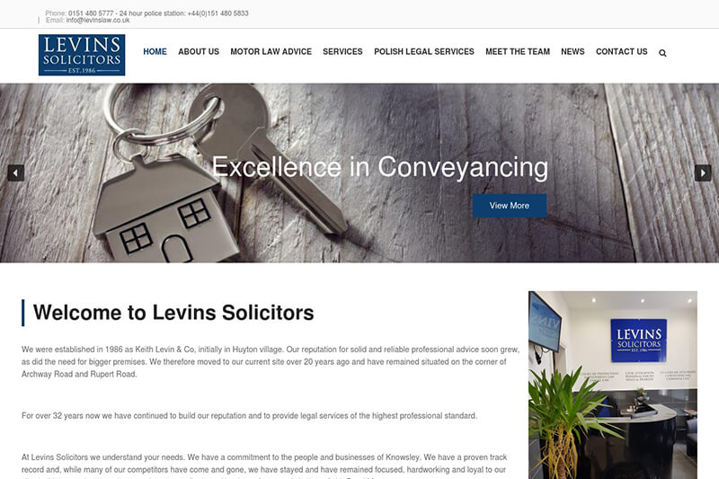 Keith Levin & Co Solicitors Merseyside