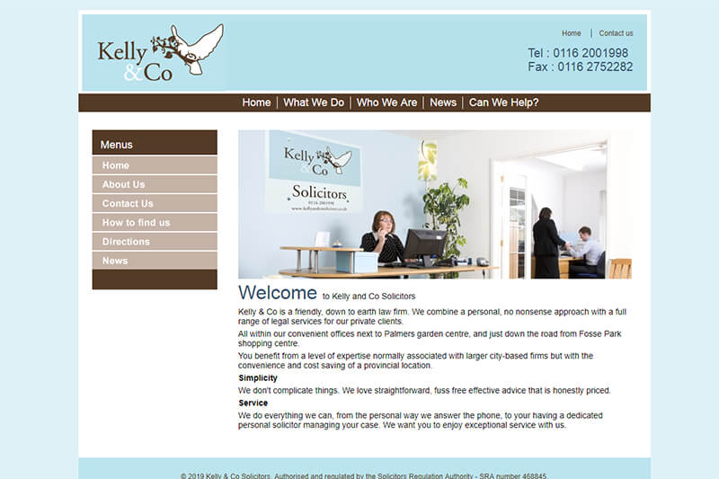 Kelly & Co Solicitors Leicestershire