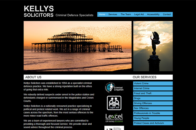 Kellys Brighton East Sussex Solicitors