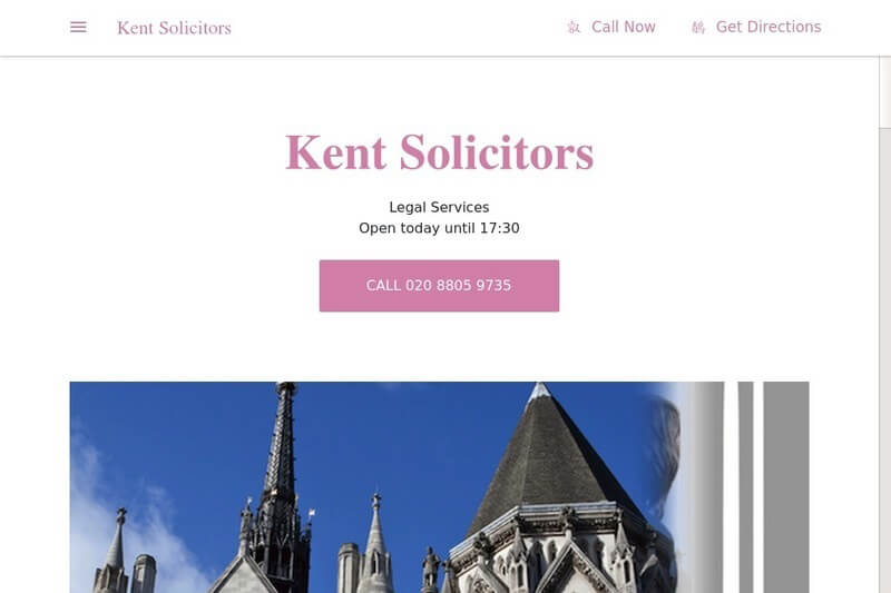 Kent Solicitors London