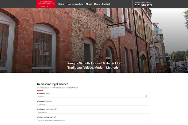 Keoghs And Nicholls Solicitors Cheshire