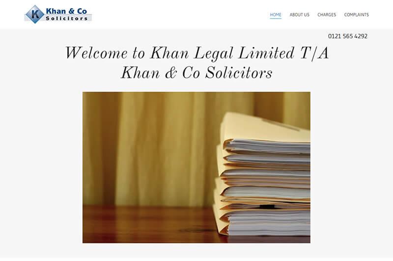 Khan & Co Solicitors West Midlands