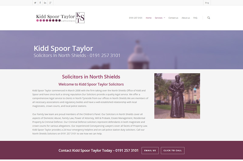 Kidd Spoor Taylor Solicitors Tyne And Wear