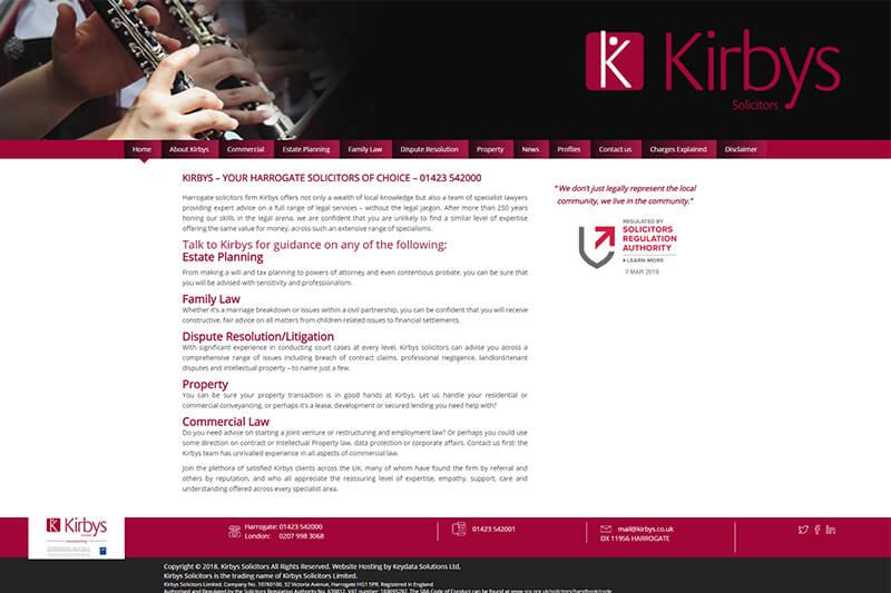 Kirbys Harrogate Solicitors North Yorkshire