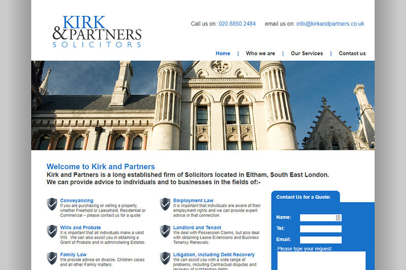 Kirk And Partners Solicitors London