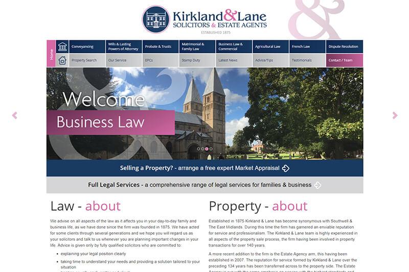 Kirkland & Lane Nottinghamshire