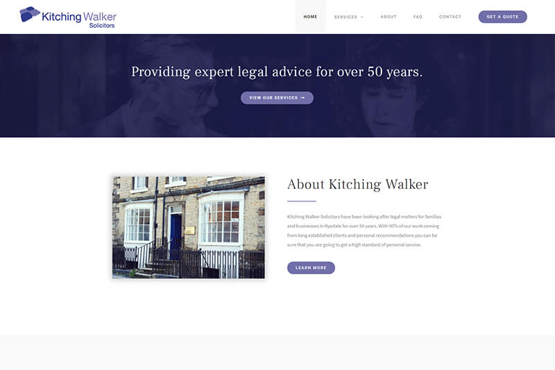 Kitching Walker Solicitors North Yorkshire