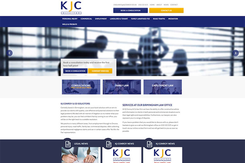 KJ Conroy Solicitors Birmingham