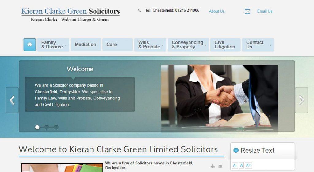 Solicitors Chesterfield Derbyshire - Kieran Clarke Green