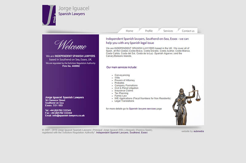 Jorge Iguacel Spanish Lawyers Solicitors Essex