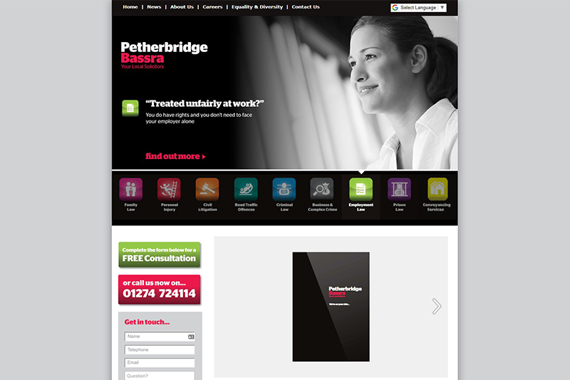 Petherbridge Bassra Solicitors in Bradford West Yorkshire