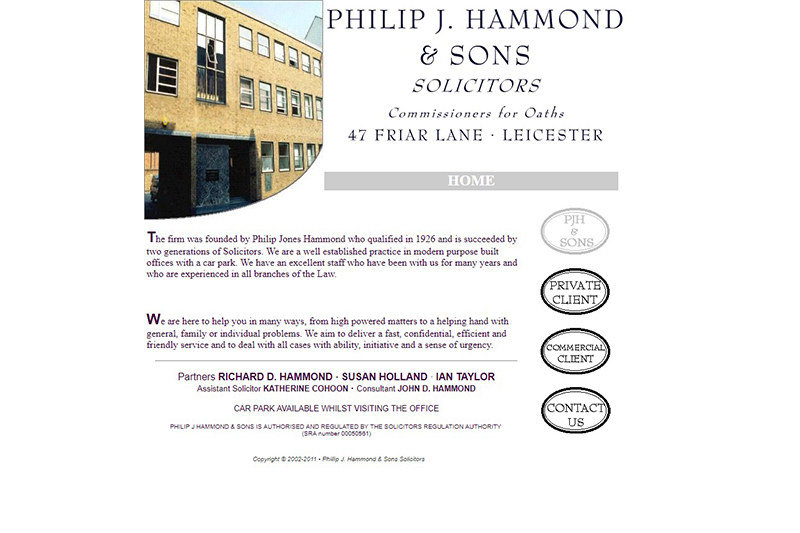 Philip J Hammond & Sons Leicestershire
