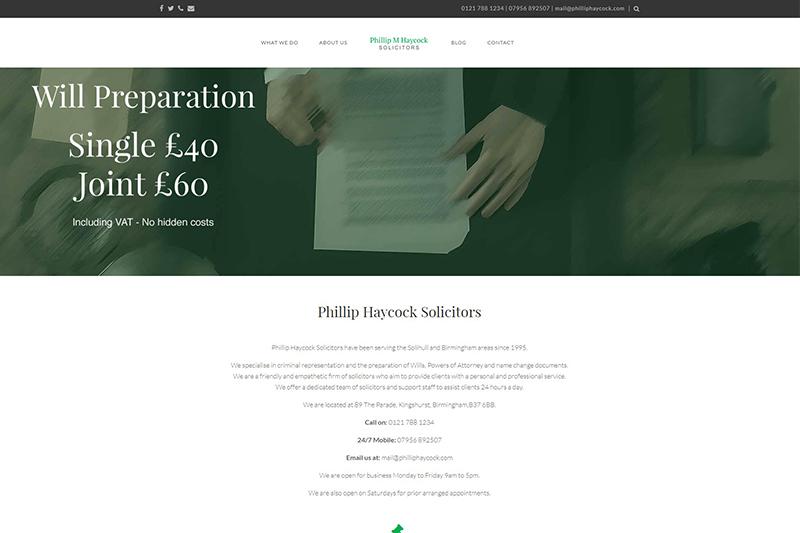 Phillip Haycock Solicitors in West Midlands