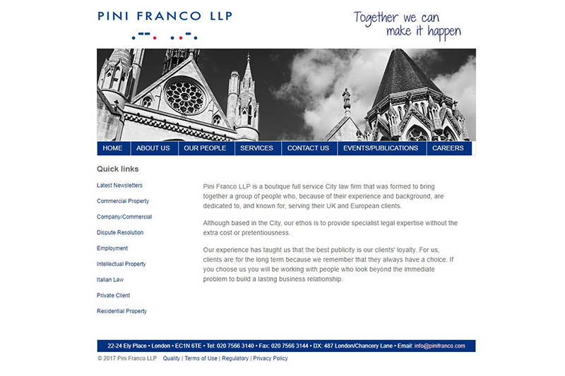 Pini Franco Solicitors in London