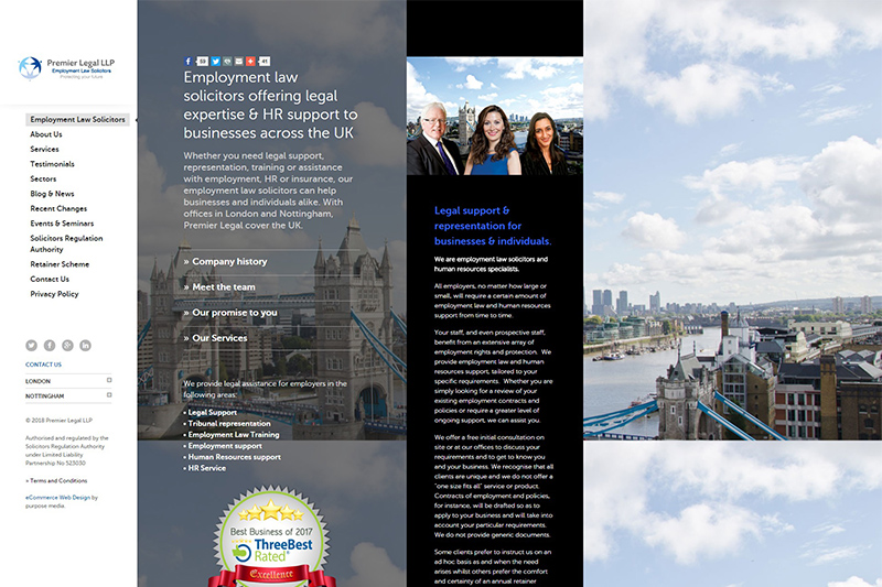 Premier Legal Solicitors in Nottinghamshire