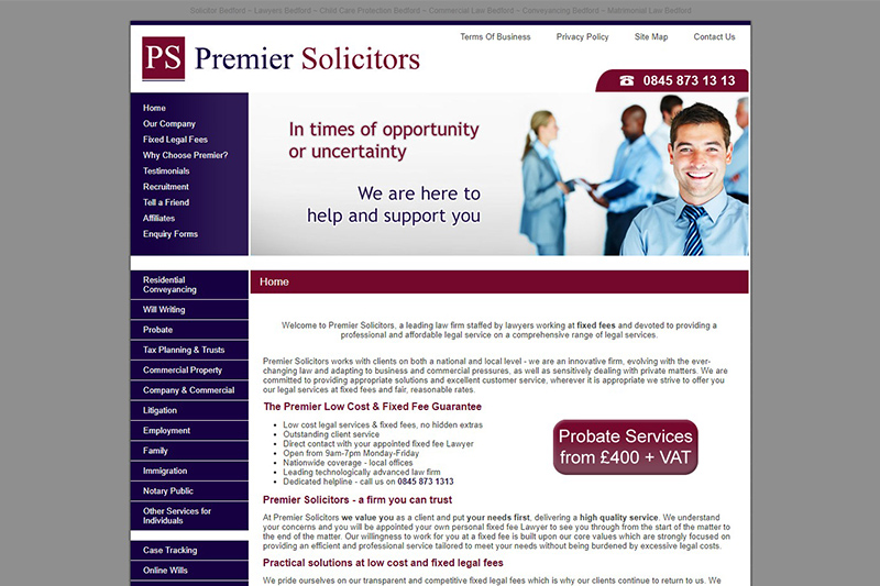 Premier Solicitors in Bedfordshire