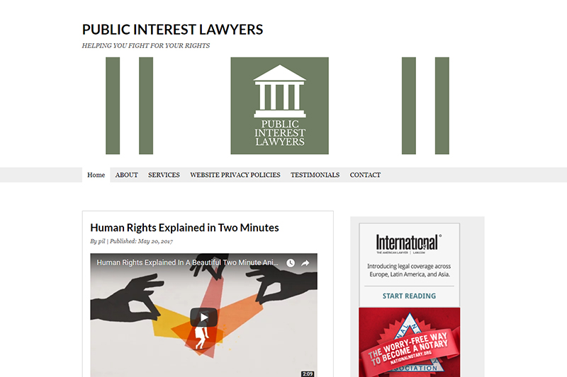 Public Interest Lawyers Solicitors in Birmingham