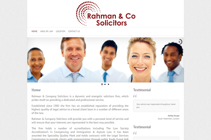 Rahman & Company Solicitors in London - Law and Legal