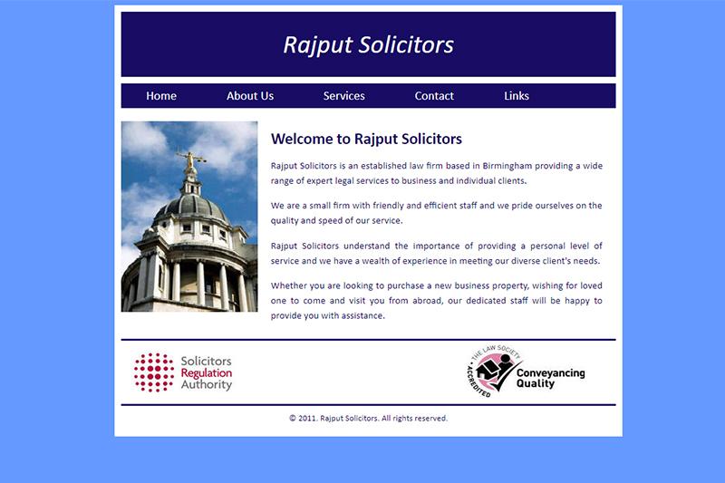 Rajput Solicitors in Birmingham