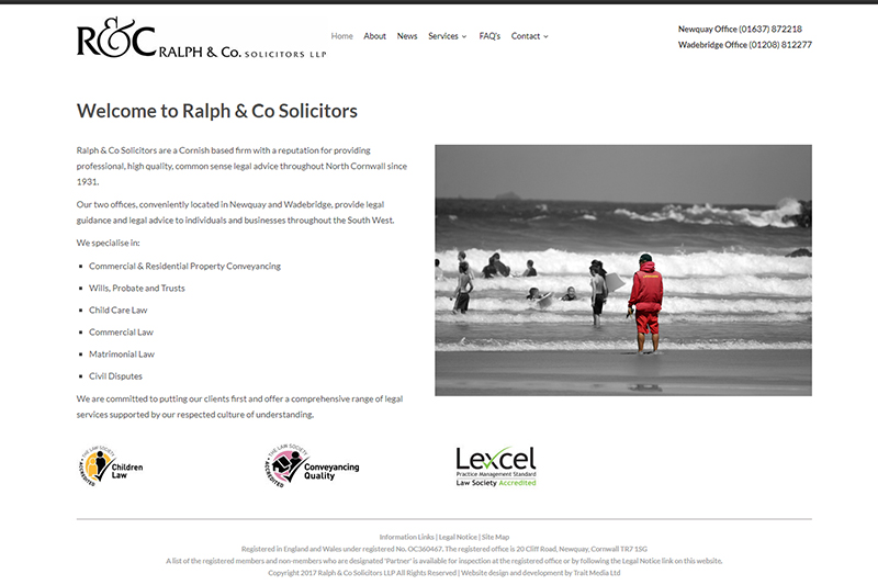 Ralph & Co Solicitors in Cornwall