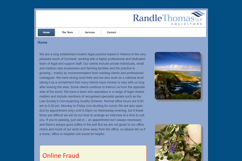 Randle Thomas Solicitors in Cornwall