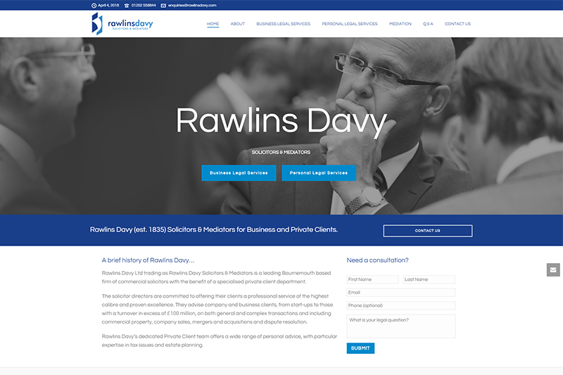 Rawlins Davy Solicitors in Dorset
