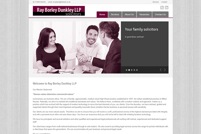 Ray Borley Dunkley Solicitors in Buckinghamshire