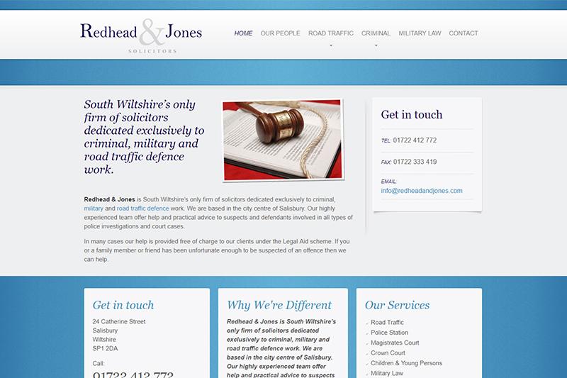 Redhead & Jones Solicitors in Wiltshire
