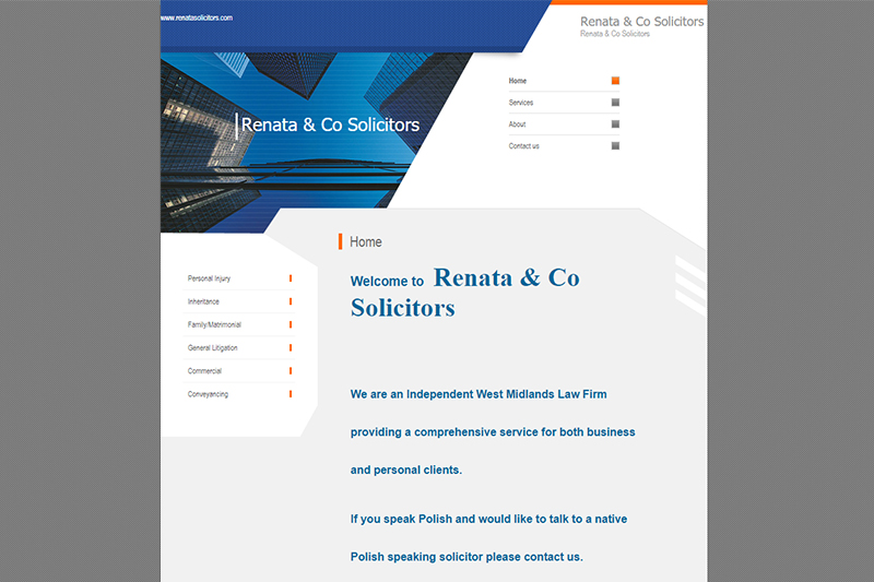 Renata Solicitors Solicitors in West Midlands