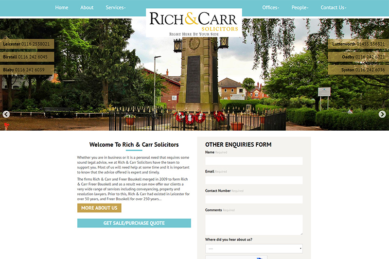 Rich & Carr Solicitors in Leicestershire