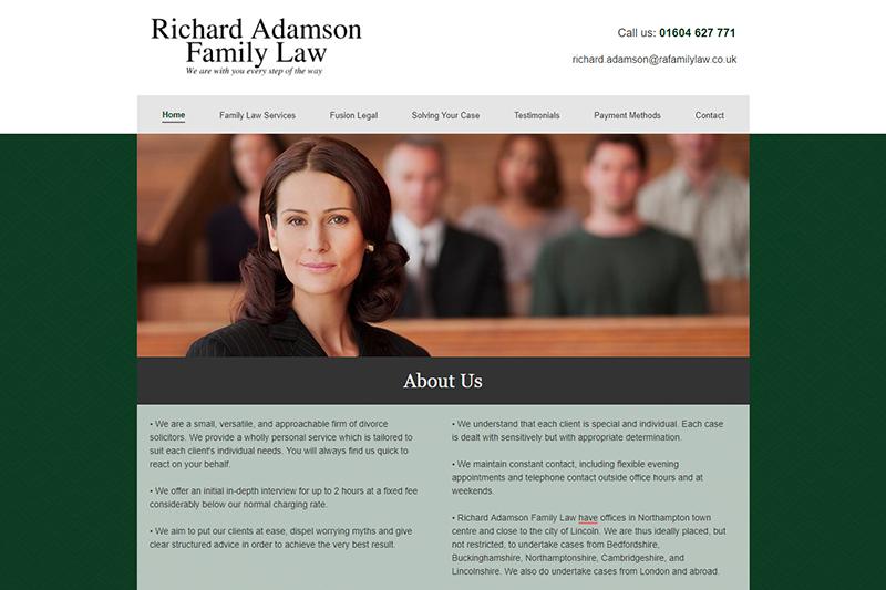 Richard Adamson Solicitors in Northamptonshire