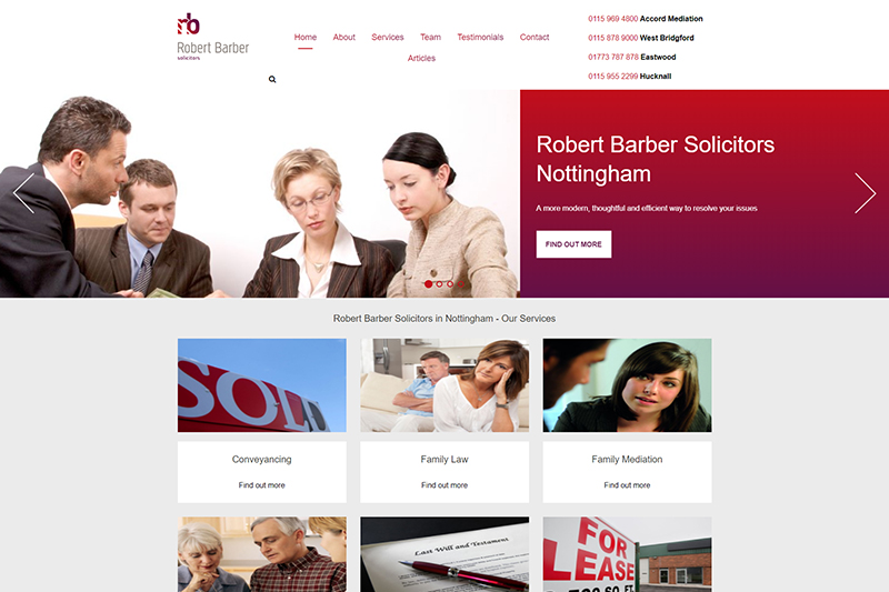 Robert Barber Solicitors in Nottinghamshire
